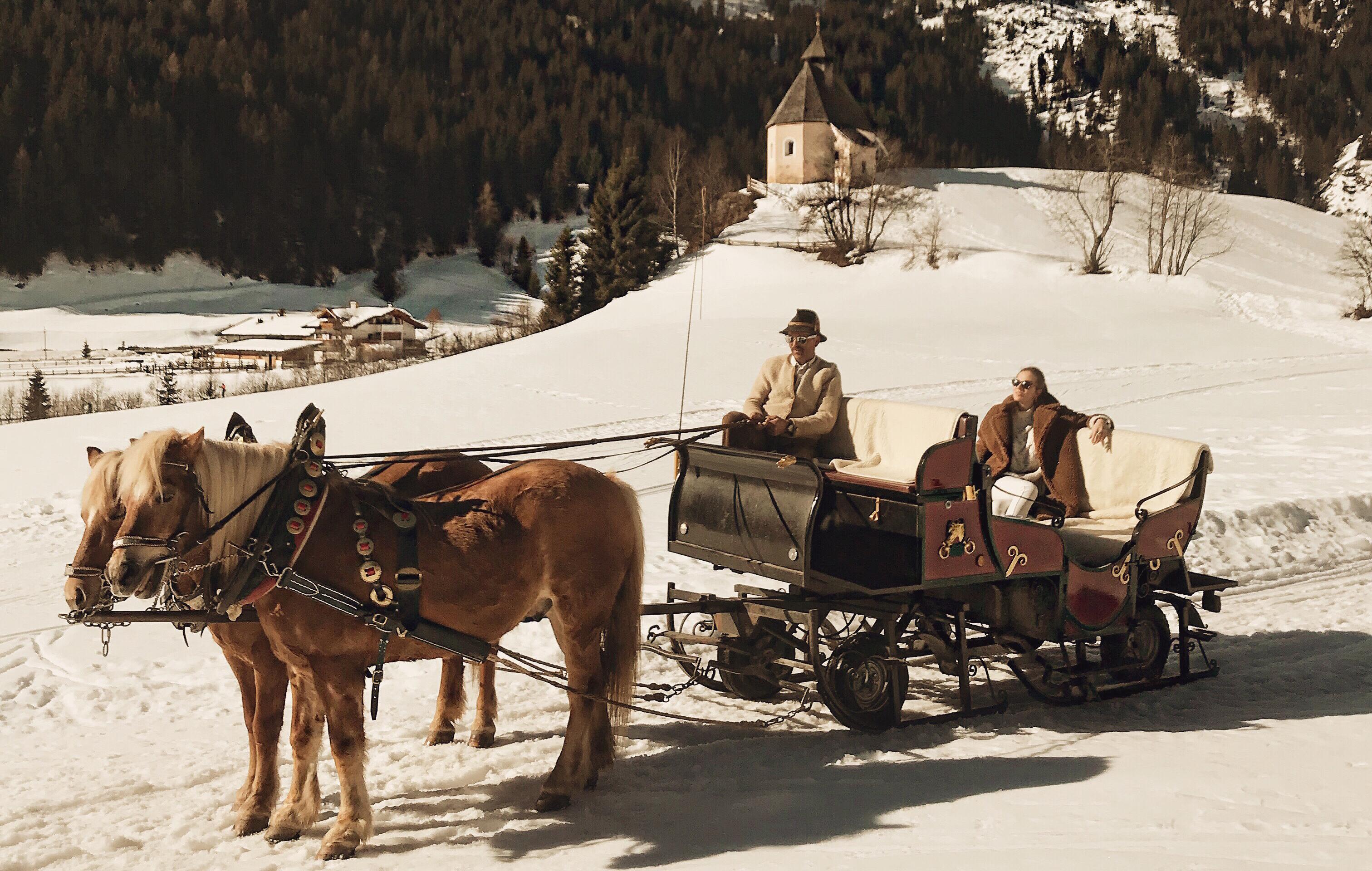 Giro in carrozza in Val Ridanna